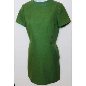 Tahari Arthur S. Levine Green Dress